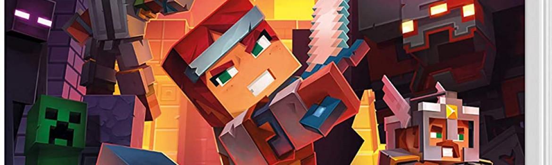 Minecraft Dungeons Switch game van de maand
